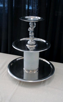 Rental store for TRAY, SILVER 3 TIER STANLESS in Nacogdoches TX