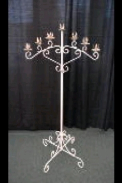 Rental store for WHITE, CANDLEABRA 7C FIXED PR in Nacogdoches TX