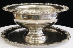 Rental store for BOWL, PUNCH SET SILVER LARGE in Nacogdoches TX