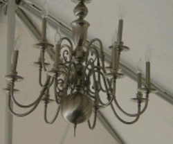 Rental store for LIGHT CHANDELIER SILVER LARGE in Nacogdoches TX