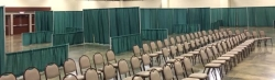 Rental store for PIPE AND DRAPE,  CURTAIN GREEN 8FT in Nacogdoches TX