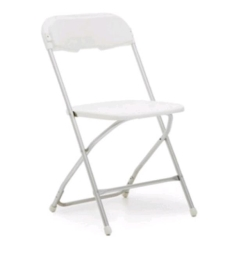 Rental store for CHAIR, ALUMINUM WHITE in Nacogdoches TX