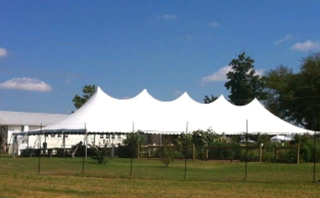 Where to find 40 X 120 POLE TENT in Nacogdoches