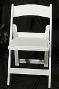Rental store for CHAIR, GARDEN WHITE PADDED in Nacogdoches TX